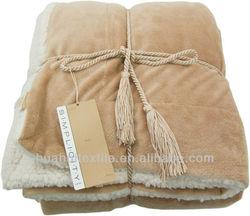 2013 Hot Sale!!!!! 100% Polyester Blanket