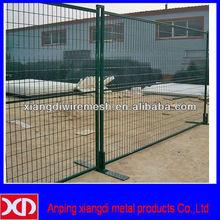 iron fence metal garden temporary fencing (canada type)