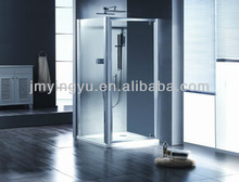 aluminium alloy tempering glass shower enclose