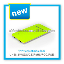 For cell phone travel 4000mah external portable mobile phone power bank