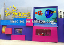 P10 outdoor full color LED digital display/ Silan or Epistar LEDs/High definition viewing effect