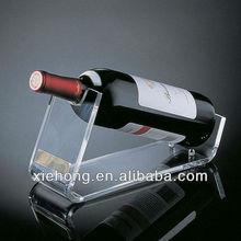 acrylic plastic wine bottle holder