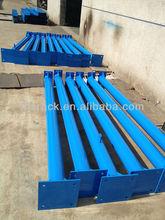 Good quality steel platform rack, standing pillar