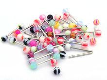 wholesale bulk assort nose/ navel/belly/tongue stud body piercing jewelry Free Shipping 100pcs/lot[BA01*100]