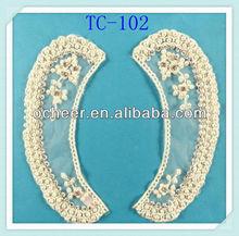 Garment accessories neck lace trims