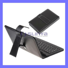 7 Inch Tablet Bluetooth Keyboard PU leather Case