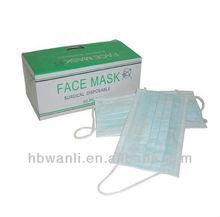Non-Woven Disposable Face Mask Anti H7N9 Bird Flu