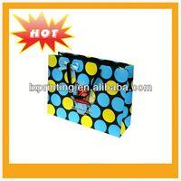 2013 Luxury cosmetic packaging paper bag