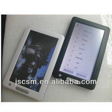 shenzhen top manufacturer 7 '' inch electronic reading books touchscreen style with good quality JSC02