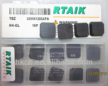 Indexable Cemented carbide Face milling inserts SEKN black pvd coated