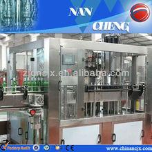 hot! glass bottle soda filling equipment machine