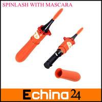 Electric Eyelash Brush with Black Mascara Black Perfect Lashes Gently Rotates 360 Degree SPINLASH Mascara