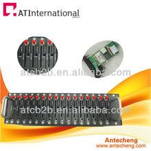 Multi sim gsm modem bulk sms modem 8/16/32/64 port/recharge software