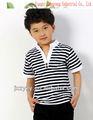 الشارع القطن تشيرتس أبيض وأسود ملابس أطفال من الصين