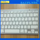 Aluminum wireless bluetooth keyboard for ipad tablet