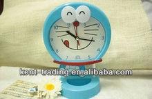 digital jingle cats wake up clock with quartz movement NC095