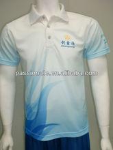 2013 sublimation dry fit men's polo shirts wholesale