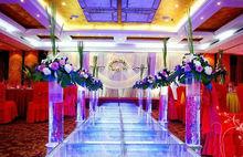4 x 4feet aluminum frame glass platform wedding stage