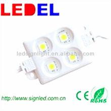 LED sign light,5533 SMD3528*4,led module 12v warm weiss