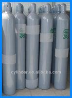 seamless steel industrial helium gas cylinder