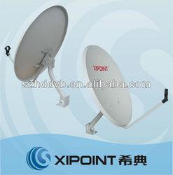 High Gain KU-Band 60CM TV satellite antenna
