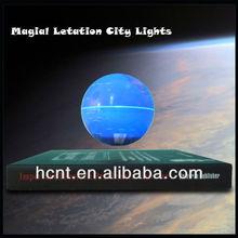 magnetic floating decorative desk top world globe