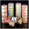Printed BOPP adhesive tape clear