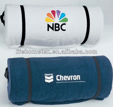 Polyester Fleece Embroidered Throws