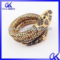 2013 New Design Fashion Jewelry Animal Gold Bangles