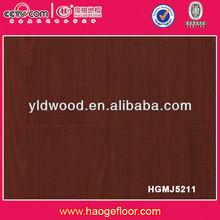 High Glossy engineered walnut color flooring