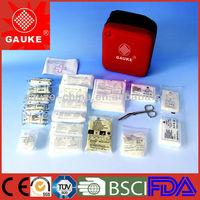 small EVA travel kit bag with disaster kit medical supplies