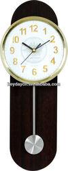 black skateboard with pendulum wall clock (YS-8086)