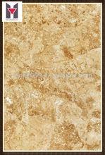 Pulido del piso y la pared de azulejos de oro del azulejo de porcelana vidriada suelos de diseño