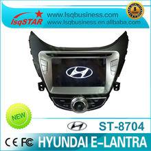 car DVD player navigation Car Audio Video Auto radio DVD Navi System for HYUNDAI E-LANTRA 2012 with 3G PIP 6CDC GPS ST-8704