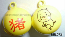 New copper bell chinese zodiac pig
