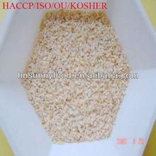 Nature white 100% pure 5.5% moisture dehydrated granulated garlic