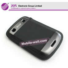For Blackberry 9900 TPU+metal protective cover