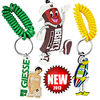Custom rubber keychain/ silicone keyring/ rubber keyring