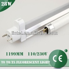 t5 28w rechargeable energy saving bulb with CE list Factory direct sales