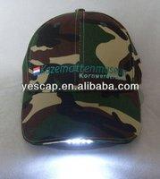 baseball cap with built-in led light