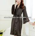 senhoras de seda de cetim laço rb201304 robe