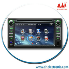 6.2in Touch Screen auto dvd 2 din with gps for Kia Cerato with GPS, iPOD, BT, TV Functions
