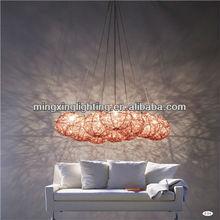 New Design 8-Light Good For Hotel or office Chrome Ball Pendant Lamp