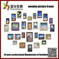Inofensivo y del medio ambiente pintura de madera marco de fotos