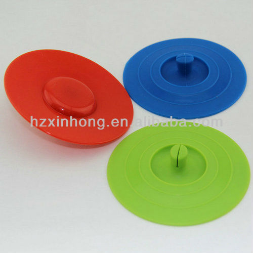 eco friendly silicon lids for coffee cups/hot cup lids