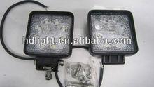 24W round LED work light for off road 4x4 jeep, truck, work led light for atv utv suv