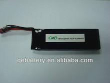 li-polymer 2P 3.7v 8200mah 10C rc toy battery