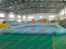 NEW inflatable cartoon pool water pool 10x10x0.55m