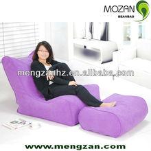 TV beanbag sofa sets , Gaming beanbag sofa with ottman