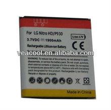 1900MAH Cell Phone Battery for LG Optimus LTE LU6200 P930 Nitro HD
